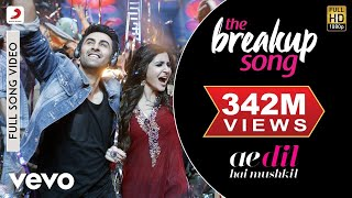 Video The Breakup Song - Ae Dil Hai Mushkil | Ranbir | Anushka | Pritam | Arijit MP3, 3GP, MP4, WEBM, AVI, FLV Maret 2019