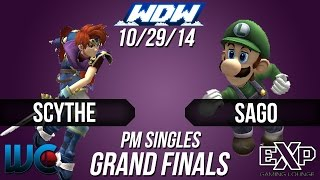 Amazing set! WDW 10/29: Scythe (Roy/Wolf) vs Sago (Luigi/Snake), Grand Finals