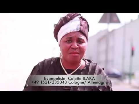 Ev. Colette ILAKA - Femme écris toi-même TA LETTRE de DELIVRANCE
