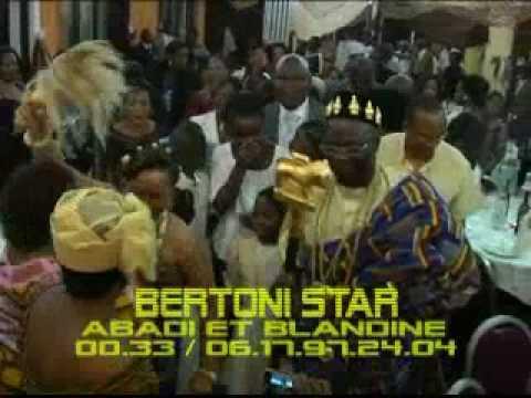 MARIAGE  DE COTE D'IVOIRE DE ABADI ET BLANDINE A MELUN / BERTONI STAR