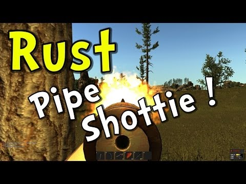 rust - Let's play Rust alpha! In this episode, the Rust Alpha Key winner is revealed and we play around with the new pipe shotgun and do a bit of hunting with a bow...