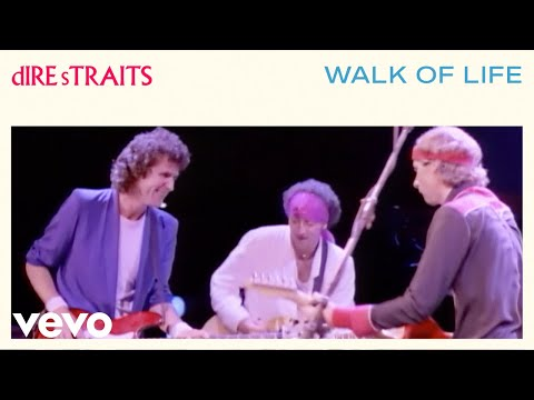 dire straits - walk of life - american clip