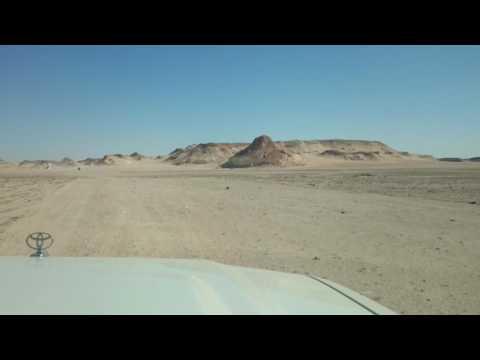 エジプト クリスタルマウンテン バフレイヤオアシス MOV 1209