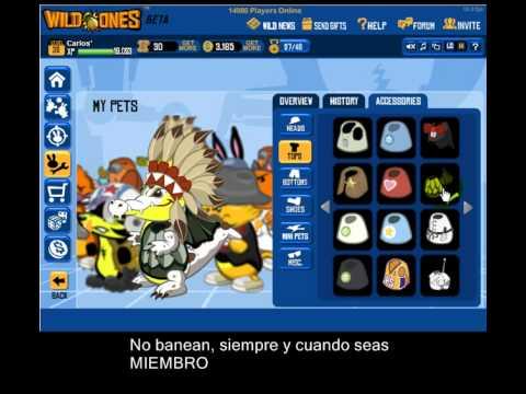 hack del nuevo pet COCODRILO en wild ones 2011 sin ningun programa