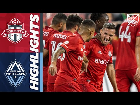 Toronto FC vs. Vancouver Whitecaps FC | August 18, 2020 | MLS Highlights