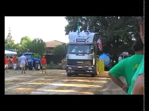 Turbostar 480 Stallone Italiano debutto - tiro - 2012 - driver Claudio - v2