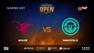 mousesports vs Immortals - DREAMHACK Open Summer - de_cobblestone [MintGod, CrystalMay]