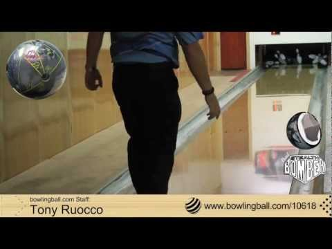 bowlingball.com Lane 1 Stealth Bomber Pearl Bowling Ball Reaction Video Review