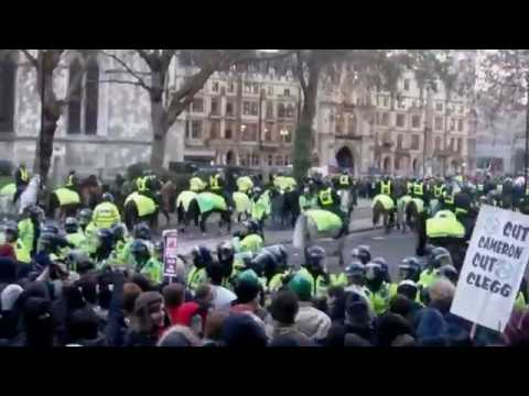 Police Horse Charge - Ride of the Rohirrim