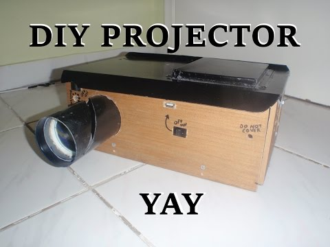 DIY Homemade Multimedia Projector