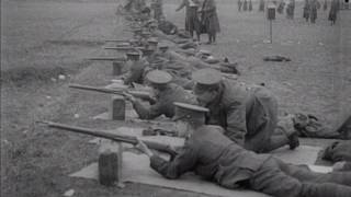 1915 Queens West Surreys Shooting by the East and West Surrey Regiment mp4