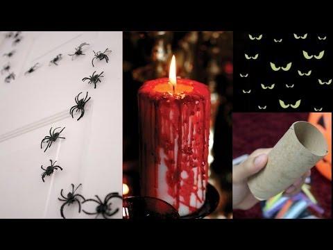 3 Easy & Quick Halloween Decoration Ideas!