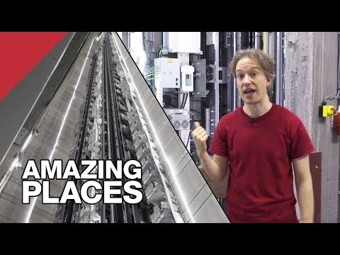 An Elevator That Actually Goes Sideways