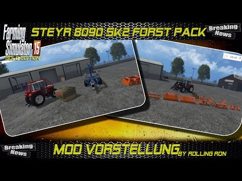 Steyr 8090 SK2 Equipment Pack v2.0