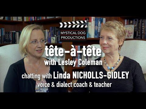 tête-à-tête Linda Nicholls Gidley