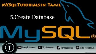 MYSQL Tutorials In Tamil 5 Create Database