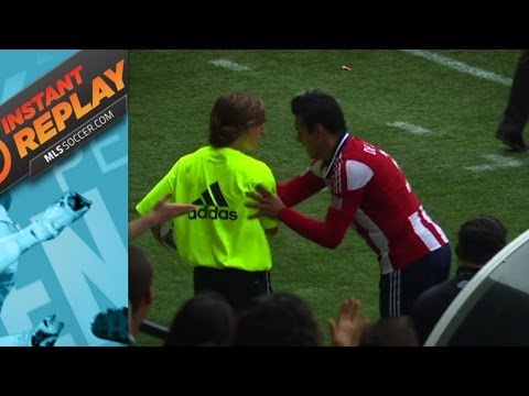 Instant Replay: Ball boy at center stage | Punch thrown in Columbus?_Soccer, MLS. MLS's best of all time