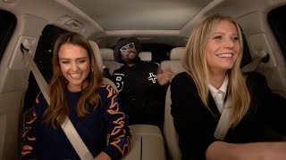 Video Apple Music — Carpool Karaoke — Jessica Alba, Gwyneth Paltrow, and will.i.am Preview MP3, 3GP, MP4, WEBM, AVI, FLV September 2017