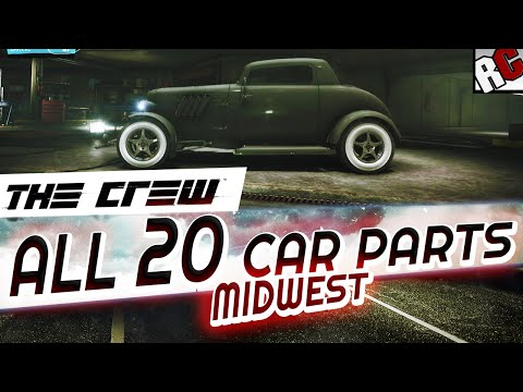 The Crew - All Hidden Car Part Locations MIDWEST - Achievement/Trophy Guide - Hot Rod Scrap Salvager