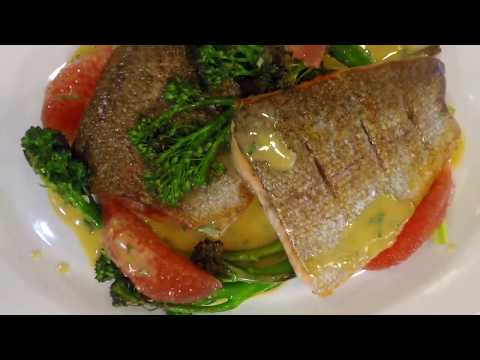 Seared Columbia River Steelhead Trout