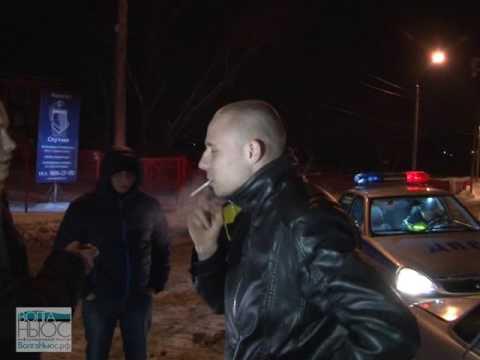 Дембель, кутивший в машине с девушками, был задержан ДПС