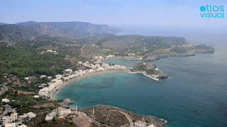 Kythira Greece  City pictures : Kythira, Greece - Kapsali Harbor & Beach - AtlasVisual