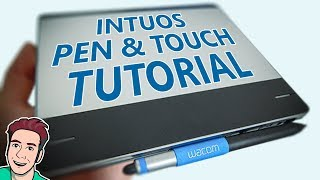 How To Use Wacom Intuos Pen&Touch (CTH-480) [CC]