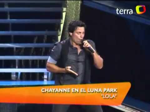 Chayanne canta Lola en vivo en el Luna Park 2011   Música   Videos de Entretenimiento   TerraTV2 (видео)