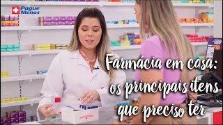 Momento Clinic Farma - Farmácia em casa: principais itens que preciso ter