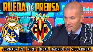 Download Video Real Madrid 0-1 Villarreal Rueda de prensa de Zidane (13/01/2018)   POST LIGA JORNADA 19 MP3 3GP MP4