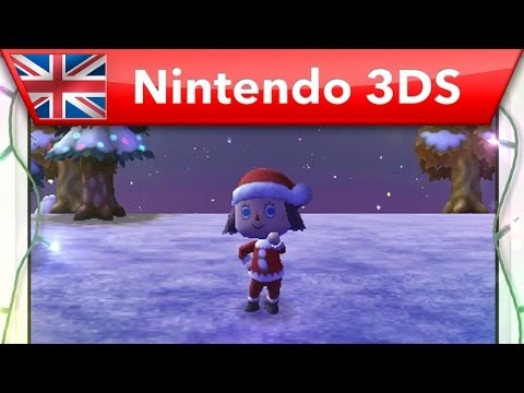 Animal Crossing: New Leaf - Christmas Trailer (Nintendo 3DS) Video