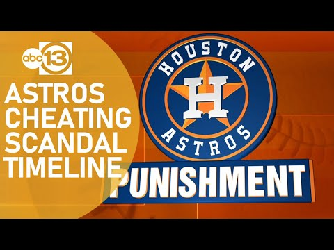 TIMELINE: Here's how the Astros' cheating scandal evolved