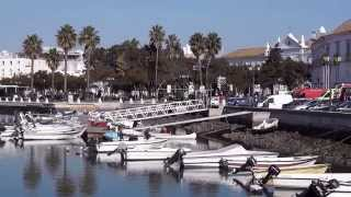 Faro Portugal  city photos : Faro - Algarve - Portugal - Walking Travel Tour - HD