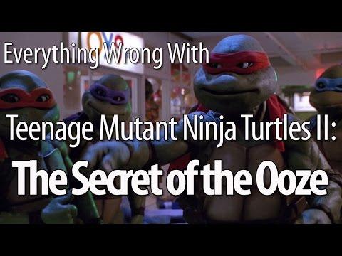 Everything Wrong With Teenage Mutant Ninja Turtles II: Secret of the Ooze