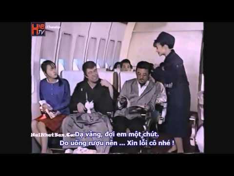 [Vua hài Nhật Bản] Sự cố trên máy bay - Clip hài vietsub