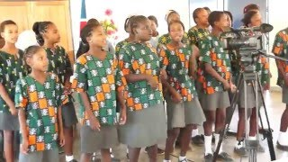 School Choir at Otjivero Primary school