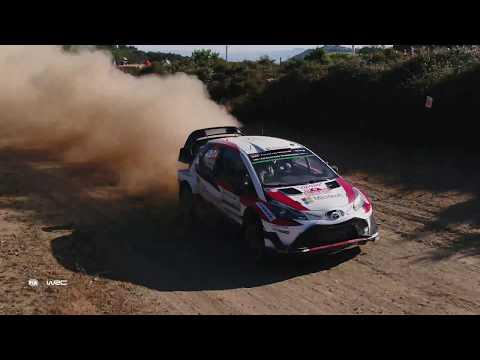 WRC 2017 - DJI Aerial Clip: Rally Italia Sardegna
