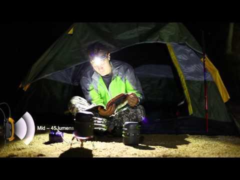 Відеоогляд налобного ліхтаря Fenix HP25 XP-G R5