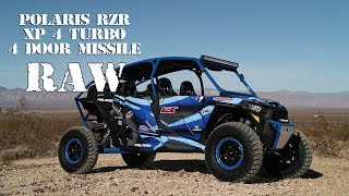 10. Polaris RZR XP 4 Turbo Project 4 Door Missile RAW