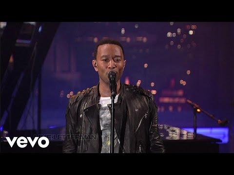 John Legend - The Beginning... (Live on Letterman)