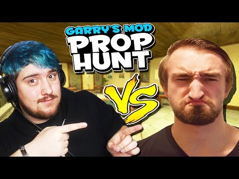 HE WAS HIDING WHERE THE WHOLE TIME? 1V1 PROP HUNT AGAINST JEROMEASF