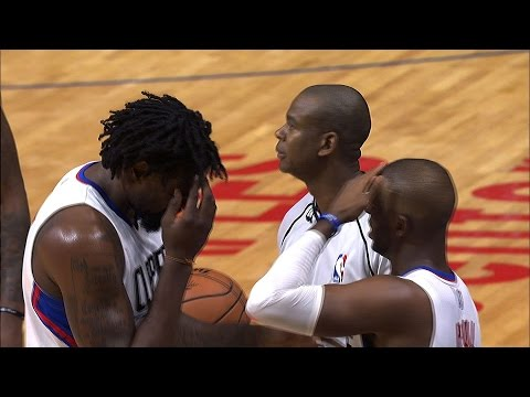 Chris Paul and DeAndre Jordan Hilariously Bang Heads After A Play