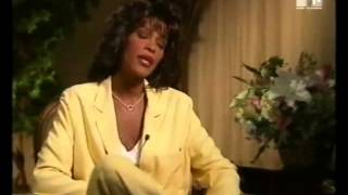 THE SOUL OF WHITNEY HOUSTON 1995 RARE INTERVIEW