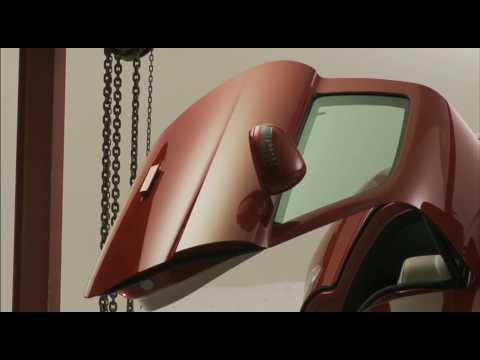 Nick Knight x Gareth Pugh   Mercedes Benz SLS AMG AD Campaign