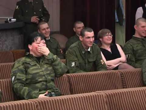 Конкурсная встреча солдатов в Центре Досуга / 20.02.2013