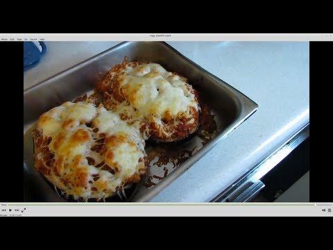 Oven Baked Stuffed Eggplant Recipe