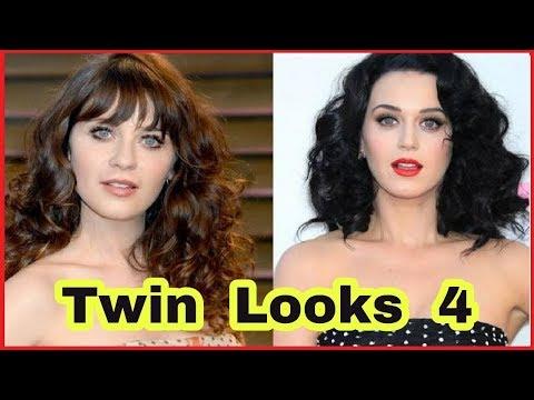 ✪✪✪ Celebrities Twin Looks Alike part 4  ✪✪✪