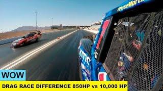 850 KM kontra 10 000 KM! Zajebiście pokazana różnica mocy silnika podczas wyścigu!