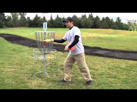 Iceland Disc Golf Putting