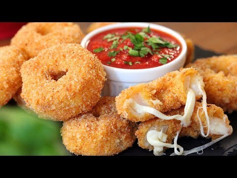 Cheese Onion Rings | How Tasty Channel
